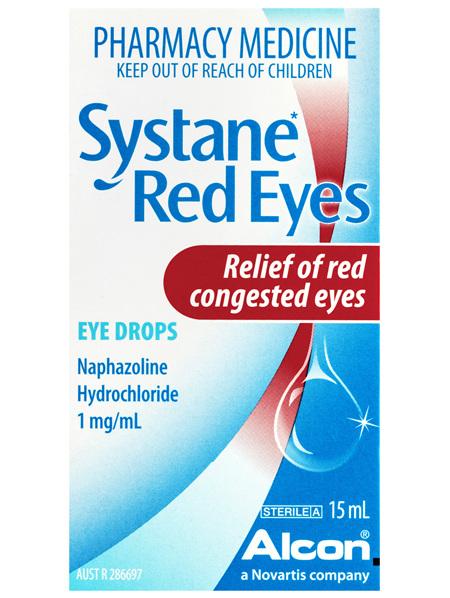 Systane Red Eyes Eye Drops 15mL