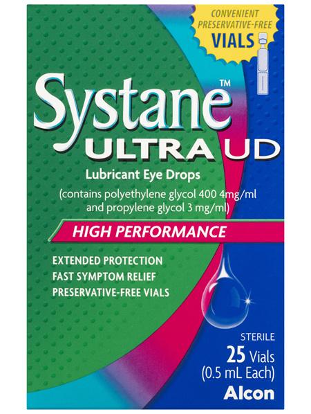 Systane Ultra UD Lubricant Eye Drops 25 x 0.5mL