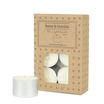 T/Light Soy Wax Candles - 6 Pack