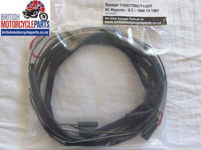 T100C TR6C T120TT Wiring Loom 1966-67