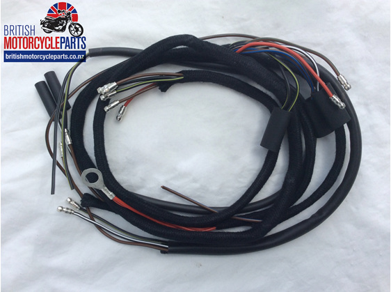 T100C TR6C T120TT Wiring Loom 1966-67 - British motorcycle Parts - Auckland NZ