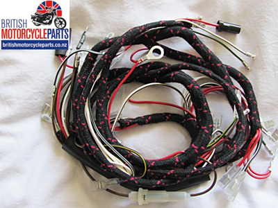 T120 TR6 T100 T90 Wiring Loom 1968 - 54953443