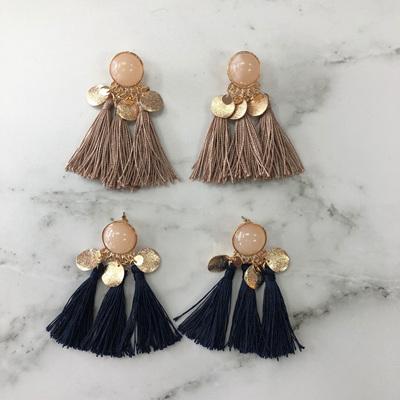 Tamara Pearl Tassel Earrings