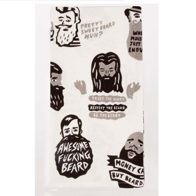 Tea Towel - Awesome F'n Beard