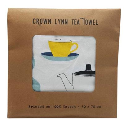 Tea Towel - Crown Lynn