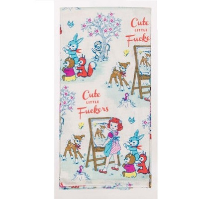 Tea Towels - Cute Little F*#kers