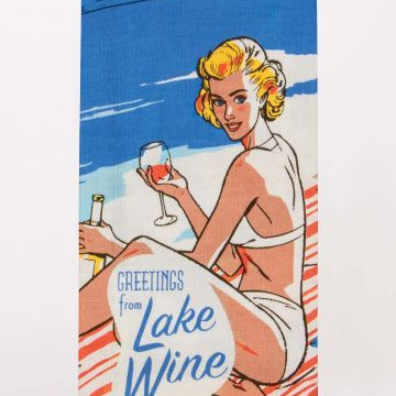 Tea Towels - Lake Wine