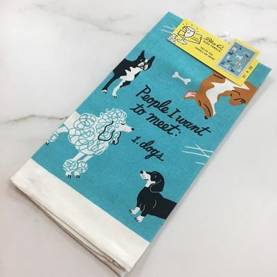 Tea Towels - People to Meet: Dogs