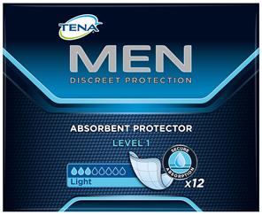TENA Men Absorbent Protector Level 1 12pk