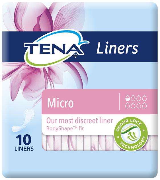 TENA Micro Liner 10 pack