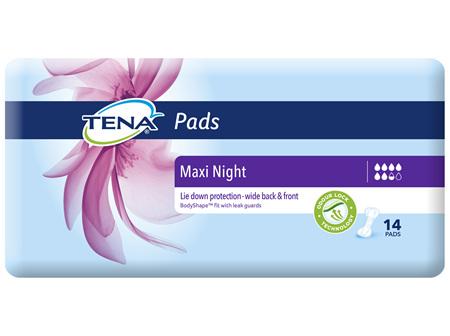 TENA Pads Maxi Night 14 Pack