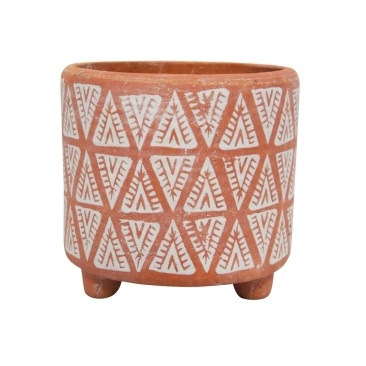 Tezza Planter - Terracotta - 17cmh