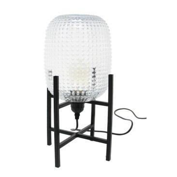 Tham Glass Lamp - Clear 25cm