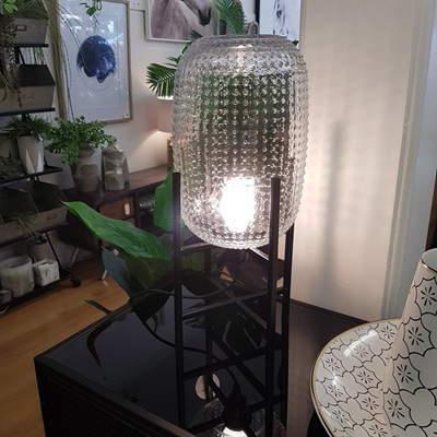Tham Glass Lamp - Clear 30cm