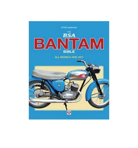 The BSA Bantam Bible - All models 1948-1971 - Hardback