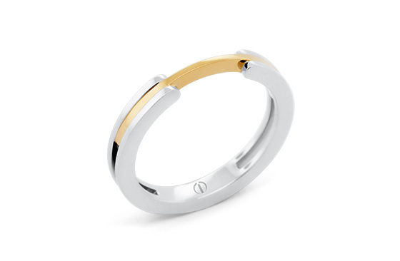 The Delicate Circlipd Ladies Wedding Ring
