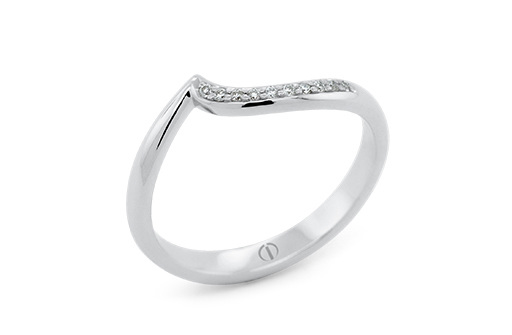 The Delicate Collection Croft Ladies Wedding Ring