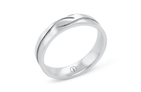 CROFT DELICATE MENS WEDDING RING