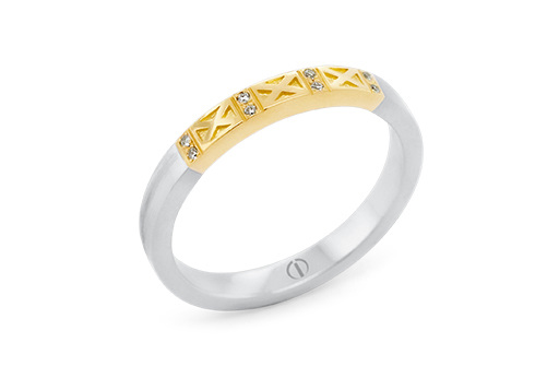 The Delicate Collection Empired Delicate Ladies Wedding Ring