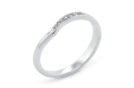 INFINITY DELICATE LADIES WEDDING RING
