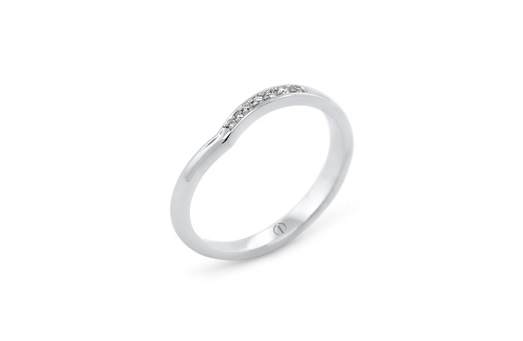 The Delicate Collection Infinity Delicate Ladies Wedding Ring