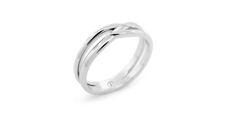 The Delicate Collection Infinity Mens Wedding Ring
