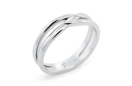 INFINITY DELICATE MENS WEDDING RING