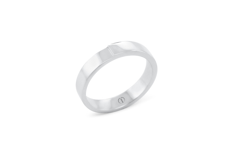 The Delicate Collection Lidz Mens Wedding Ring