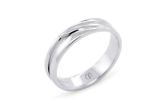 The Delicate Collection Patai Mens Wedding Ring