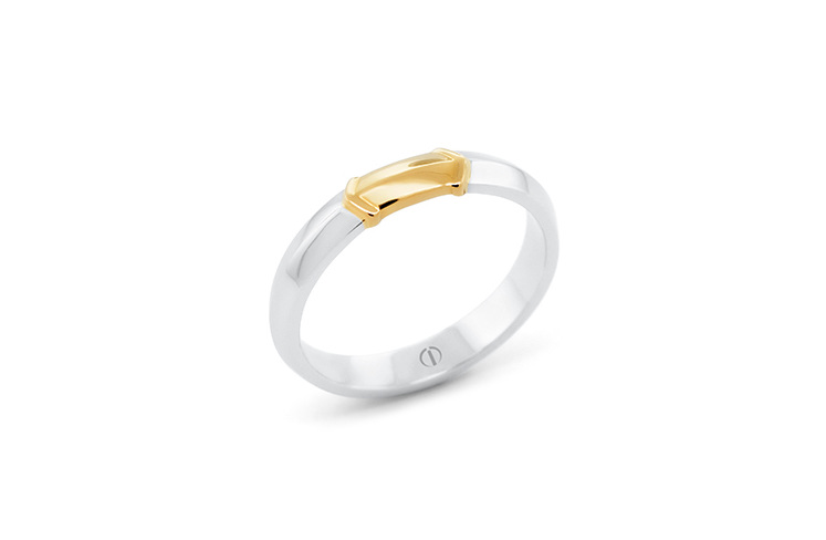 The Delicate Collection Raize Mens Wedding Ring