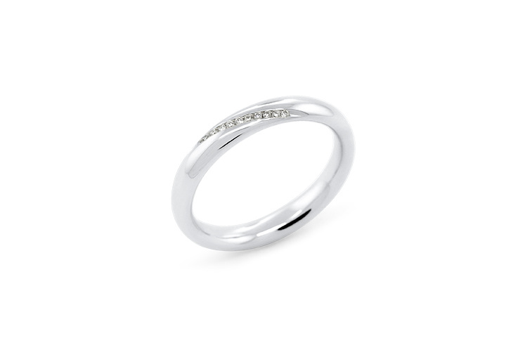 The Delicate Collection Stellad Evo Ladies Wedding Ring