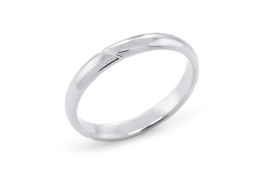The Delicate Collection Stellad Evo Mens Wedding Ring
