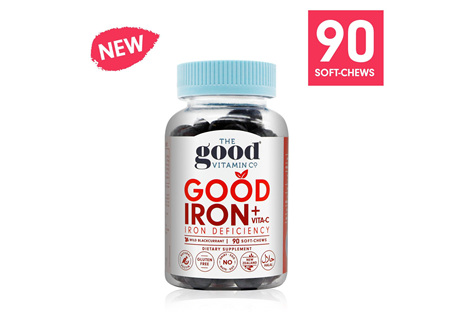 The Good Vitamin Co. Good Iron + Vitamin C 90 Gummies