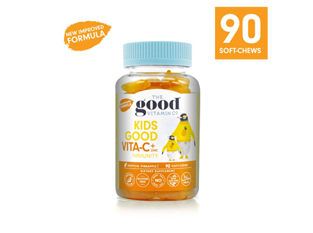 The Good Vitamin Co. Kids Good Vitamin C + Zinc Immunity 90 Gummies