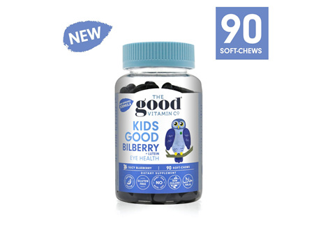 The Good Vitamin Co. Kids Good Bilberry + Lutein Eye Health 90 Gummies