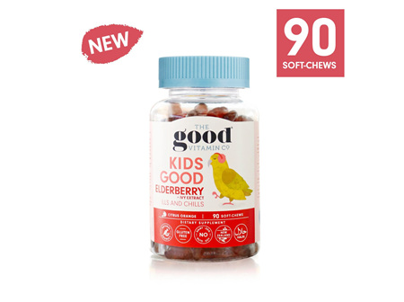 The Good Vitamin Co.Kids Good Elderberry + Ivy Extract 90 Gummies