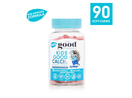 The Good Vitamin Co. Kids Good Calcium + Vitamin D 90 Gummies
