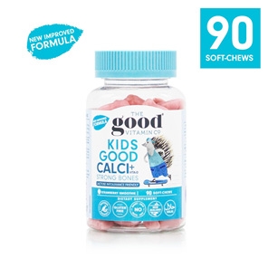 The Good Vitamin Co. Kids Good Calcium + Vitamin D 90 Gummies