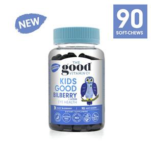 The Good Vitamin Co. Kids Good Bilberry + Lutein Eye Health 90 Gummies