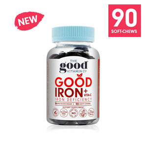 The Good Vitamin Co. Good Iron + Vitamin C 90 Gummies