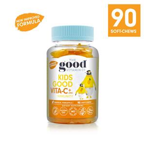 The Good Vitamin Co. Kids Good Vitamin C + Zinc Immunity 90 Gummies