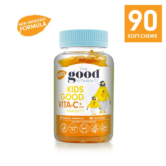 The Good Vitamin Co KIDS GOOD VITA C and ZINC 90 chews