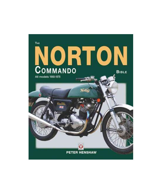 The Norton Commando Bible All Models 1968 to 1978 - British Motorcycle Parts Ltd