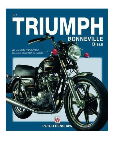 The Triumph Bonneville Bible - 1959-88