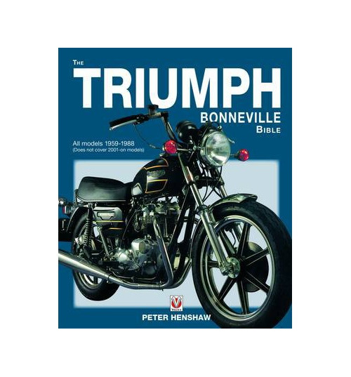 the triumph bonneville bible 1959-88 - british motorcycle parts