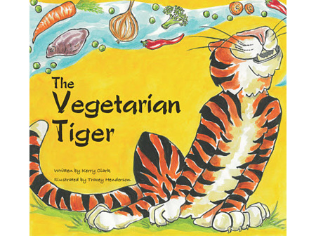 THE VEGETARIAN TIGER BY KERRY CLARK