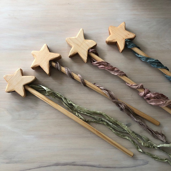 The Woodlands Natural Star Wands