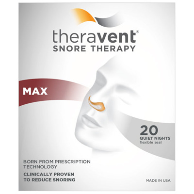 Theravent MAX 20 night therapy pack