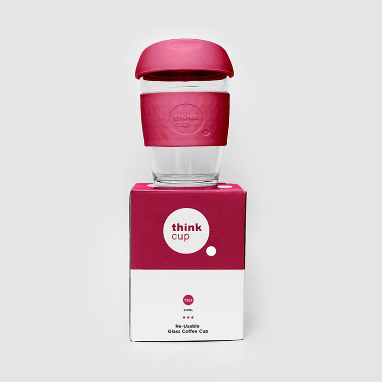 Think Cup 12oz Berry