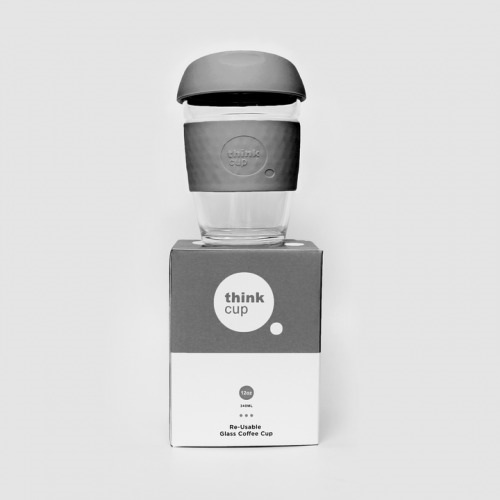 Think Cup 12oz Charcoal